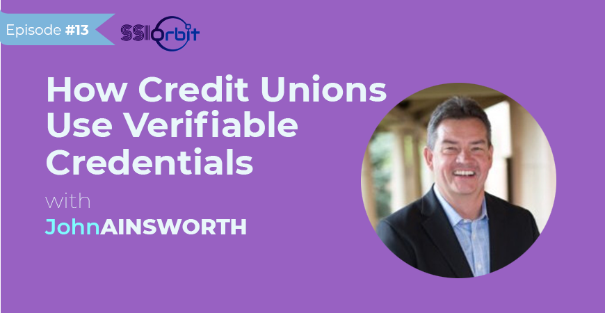 credit unions use verifiable credentials